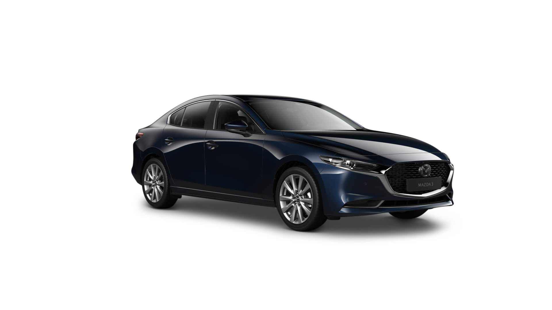 Mazda3 sedan - deep crystal blue