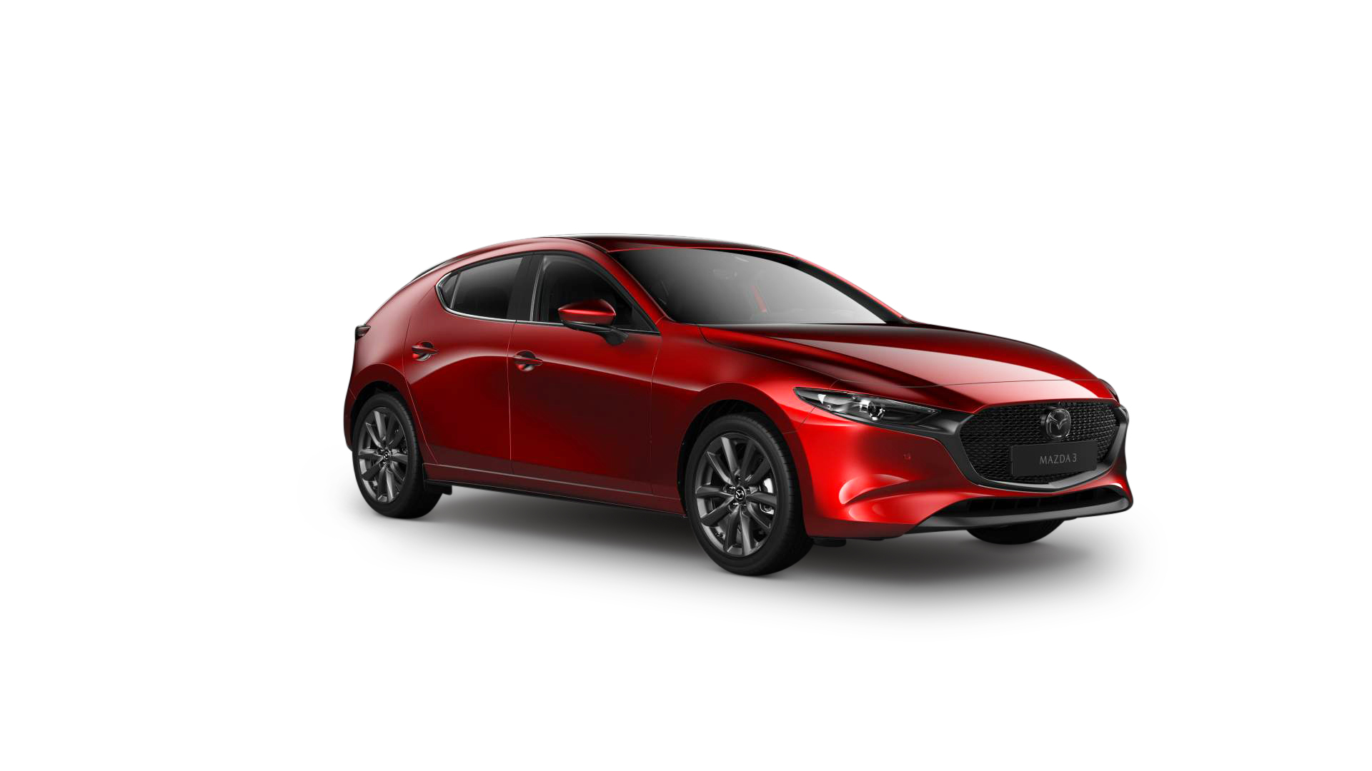 Mazda3 Cosmo hatchback Soul Red Crystal
